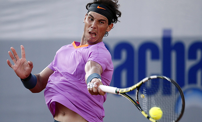 Rafael Nadal won in straight sets in the VTR Open quarterfinals.