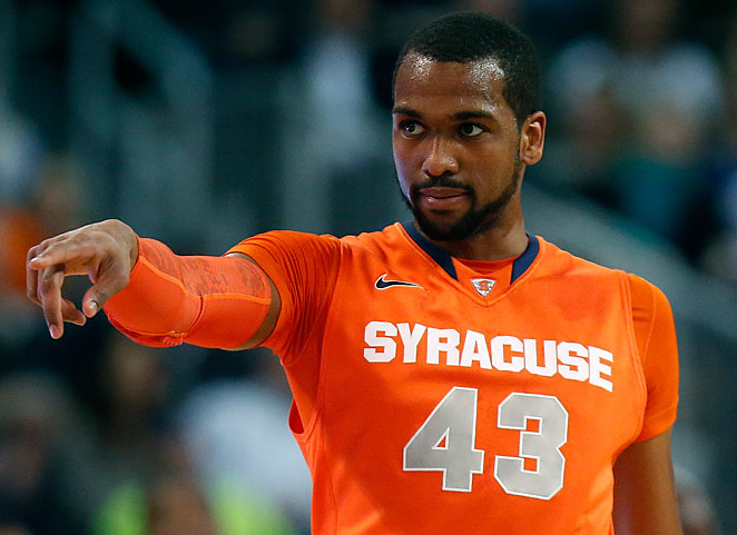 James Southerland, Syracuse's third-leading scorer, missed six games because of an academic issue.