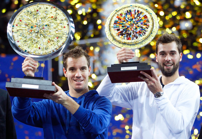 Richard Gasquet defeated fellow Frenchman Benoit Paire to win the Open Sud de France.