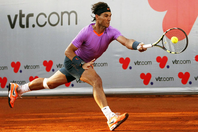 Rafael Nadal advanced to the VTR Open final in his return from injury, but he lost to Horacio Zeballos.