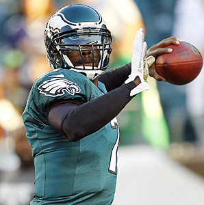 Limited to 10 games last season because of injuries, Michael Vick will return to the Eagles next season under new coach Chip Kelly.