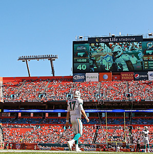 The Dolphins hope to generate $400 million in stadium upgrades with a promise to host the 2016 Super Bowl.