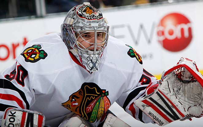 Corey Crawford had his share of doubters, but Blackhawks GM Stan Bowman wasn't one of them.