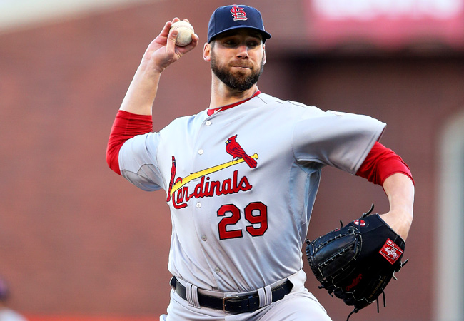 Chris Carpenter pitched in only three regular-season games for the Cardinals in 2012.