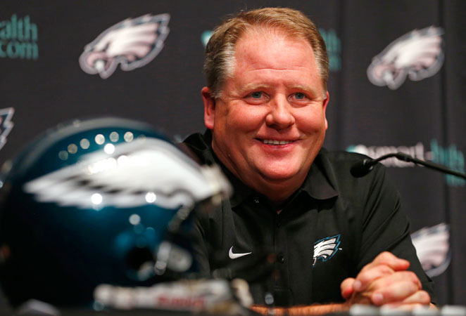 After parting ways with Andy Reid, the Eagles hired Oregon's Chip Kelly as their new head coach.