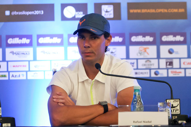 Rafael Nadal told reporters Tuesday that the ATP isn't doing enough to protect players' health.