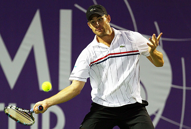 Andy Roddick was the first pick by the Springfield, Mo., Lasers in the Mylan World Team Tennis draft.