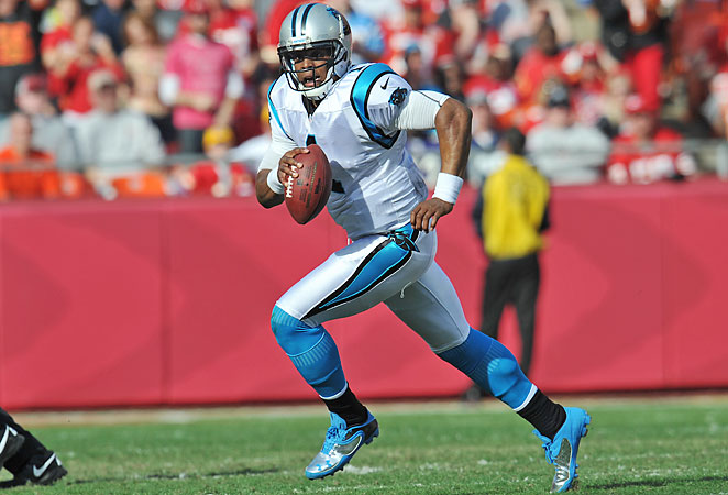 After a slow start to 2012, Cam Newton produced 14 touchdowns over the Panthers' last six games.