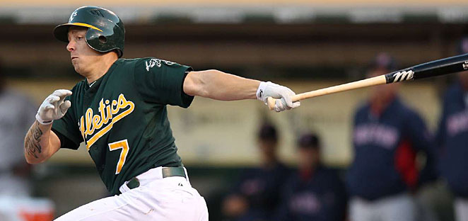 Brandon Inge spent most of last year with the A's after being released by the Tigers.