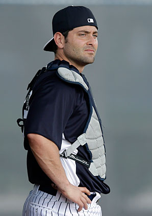 Francisco Cervelli is battling to make the Yankees this spring.
