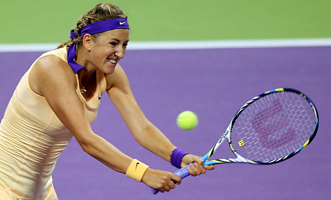 Victoria Azarenka could lose her No. 1 ranking this week at the Qatar Open.