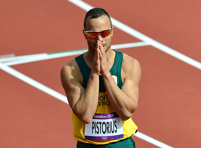 Oscar Pistorius has mentioned how sometimes he feels at risk in South Africa, and it's not uncommon for individuals to own firearms.