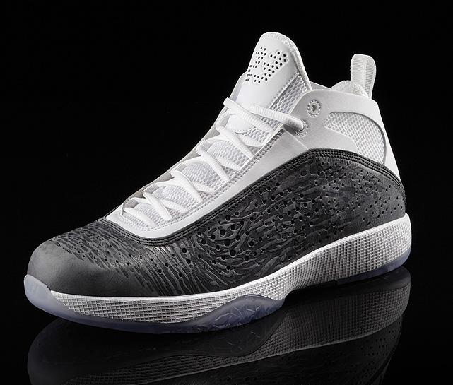 The Air Jordan 2011 featured interchangeable soles inspired by Jordan's versatile skill set.