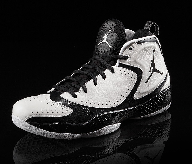 """Zoot suit"" details set the Air Jordan 2012 apart, reflecting a young Jordan's brash and confident game."