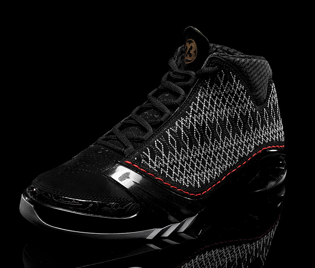 The Air Jordan XX3 bears a unique hand-stitched exterior, a full-length bootie and articulated chassis.