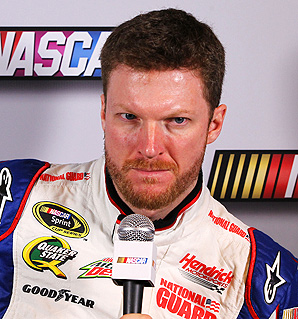 Dale Earnhardt Jr.'s concussion at the end of last season influenced NASCAR's decision to mandate concussion tests.