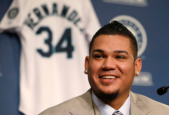 Felix Hernandez signed a seven-year, $175 million contract with Seattle earlier this week.