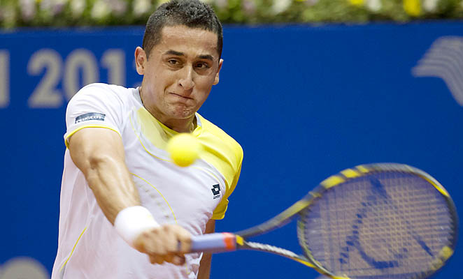 Spaniard Nicolas Almagro has won 12 career ATP titles, all on clay courts.