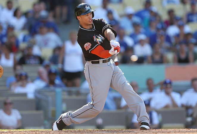 Despite his injury history, Giancarlo Stanton is the only safe bet for 40 homers in all of baseball.