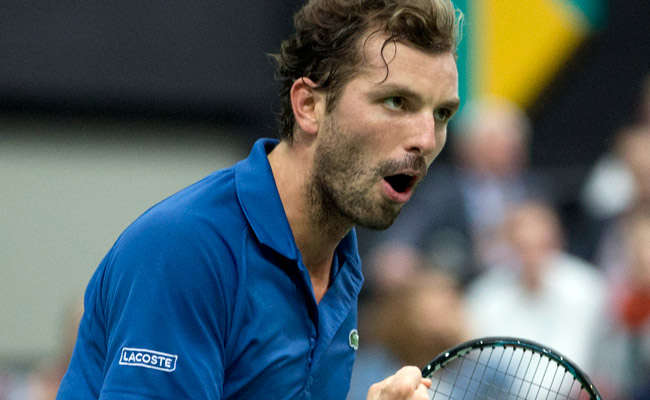 Julien Benneteau, who will face Juan Martin del Potro in the ABN AMRO finals, is 0-7 in singles finals.