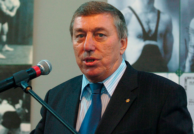 Raphael Martinetti had been president of the international wrestling federation since 2002.