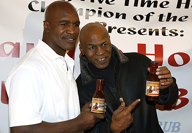 """I love Evander. I'm forever linked with him for the rest of my life,"" said Tyson."