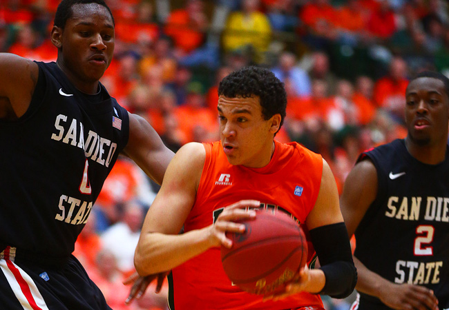 Dorian Green and Colorado State scored two big wins this week and host UNLV on Wednesday.