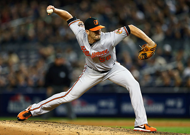 Relief pitcher Darren O'Day became the final player in the MLB to settle his arbitration case on Monday.