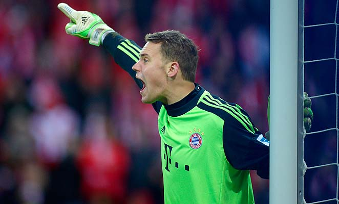 Manuel Neuer and Bayern Munich won their group, losing just one match at Lille.