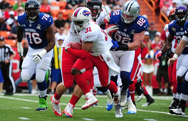 Bills safety Jarius Byrd made the second Pro Bowl of his career this past season.