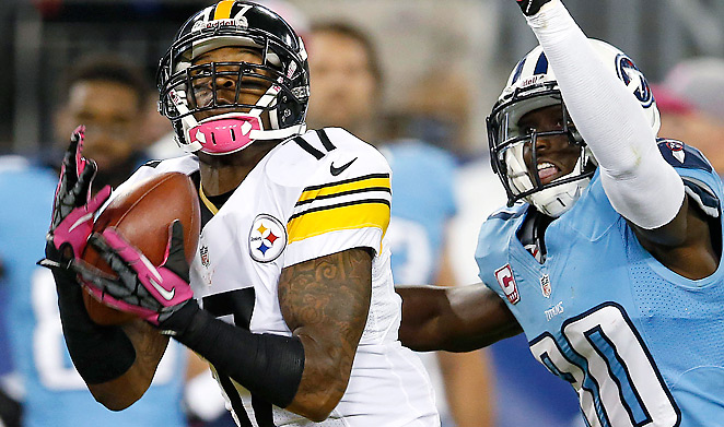 Mike Wallace has playmaking talent, but there are questions about his commitment and discipline.