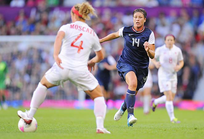 Abby Wambach is closing in on Mia Hamm's record for goals by an American woman.