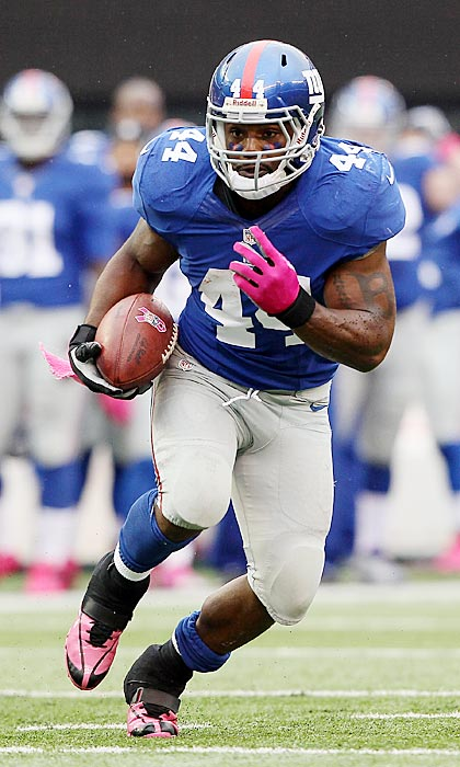 The New York Giants' decision to release Bradshaw shows their faith that David Wilson can handle the workload as the primary back. It also makes a quality running back available on the open market. Bradshaw gained 4.6 yards per carry last season for 1,015 rushing yards and six touchdowns. At just 26, there's reason to believe he can continue to post strong numbers if he can show he's fit after undergoing foot surgery.