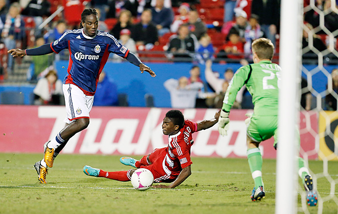 The Sounders have acquired seven-time MLS all-star Sharlie Joseph (left) in a trade with Chivas USA.