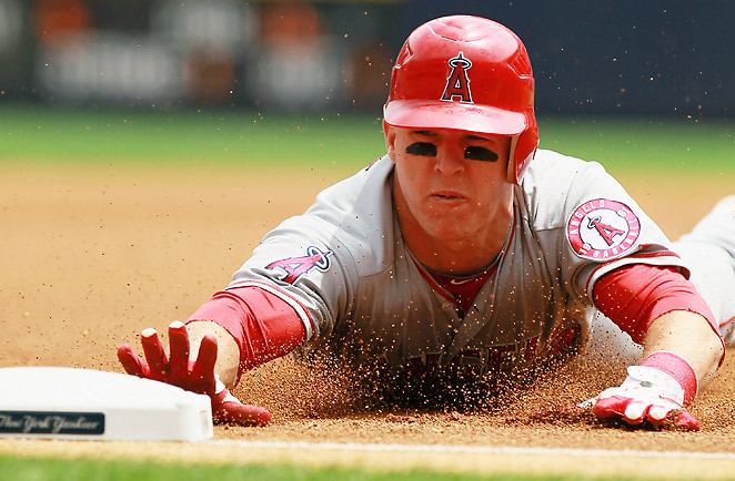 Mike Trout should follow his Rookie of the Year season by posting MVP-caliber numbers for the Angels.