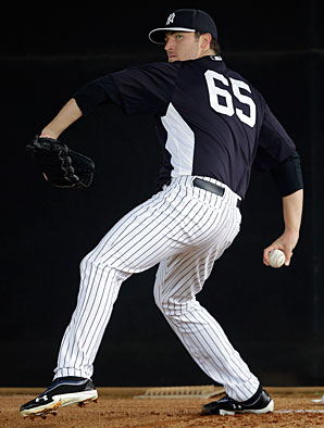 Phil Hughes went 16-13 in 32 starts for the Yankees in 2012.