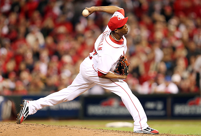 After saving 38 games last season, Aroldis Chapman will move to the starting rotation in 2012.