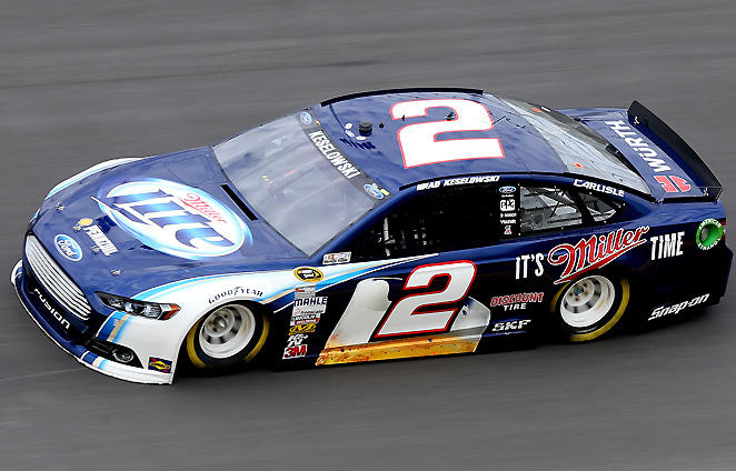 "Brad Keselowski says the image of the new ""Generation 6"" racecar matters to drivers, because it's all fans see during races."