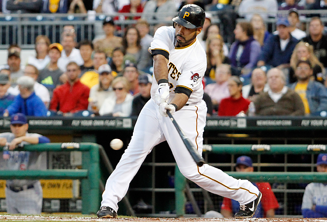 Though he struck out 180 times last season, the Pirates' Pedro Alvarez also hit a career-high 30 homers.