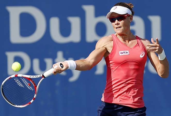 Sam Stosur's underwhelming 2013 continued with her loss after bowing out in the second round in Melbourne.