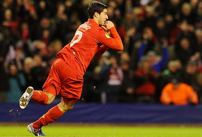 Luis Suarez scored two highlight-reel goals for Liverpool, but it wasn't enough.