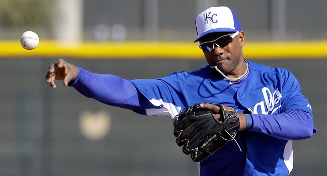 Miguel Tejada hasn't played in the majors since batting .239 with 26 RBIs for San Francisco in 2011.