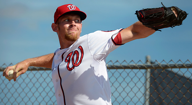 After a limiting innings cap in 2012, Washington's Stephen Strasburg will not be restricted in '13.
