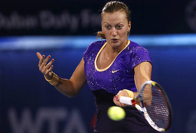 Czech Petra Kvitova is trying to bounce back after a poor season last year.