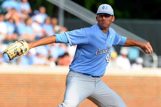 Kent Emanuel returns as the ace of North Carolina's talented starting rotation.