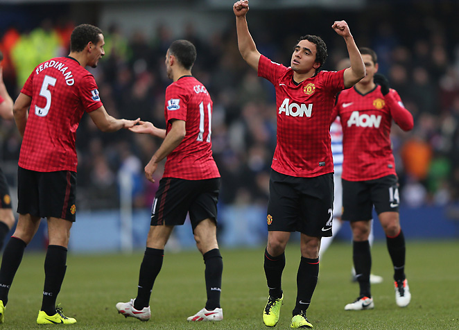 Rafael opened the scoring in the first half with an absolute screamer from outside the penalty area.