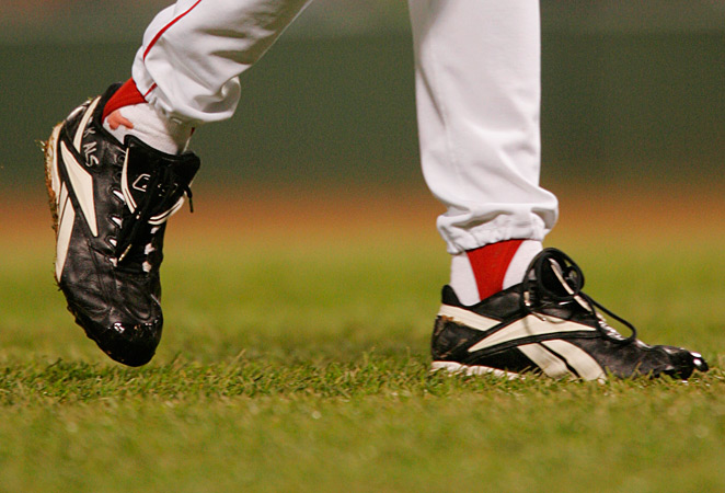 Curt Schilling's sock became famously bloody in Game 2 of the 2004 World Series.