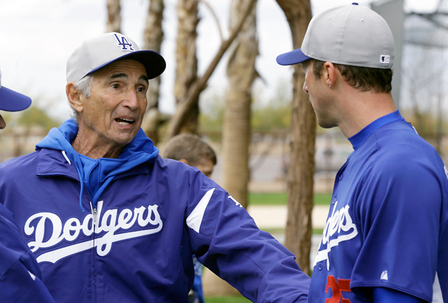 For the first time since the late 1980s, Hall of Famer Sandy Koufax is back in a Dodgers uniform.
