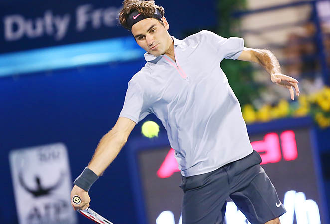 Roger Federer aims to bounce back from an early loss at his last event in Rotterdam two weeks ago.