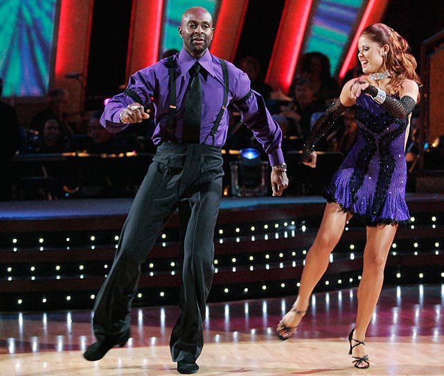 The retired NFL Hall of Fame wide receiver finished in 2nd place with dancing partner Anna Trebunskaya.